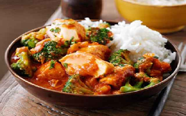 Salmon Curry In A Hurry Simple Slimming World Recipes