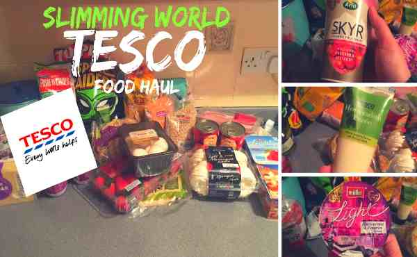 Slimming World Low Syn And Syn Free Food Haul From Tesco